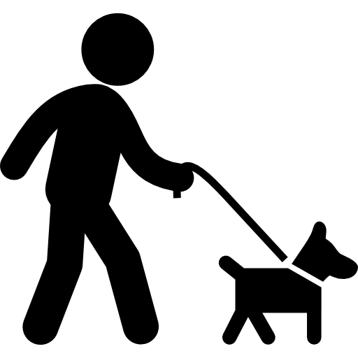 picture black and white library Dogs animal owner pet. Walk dog clipart