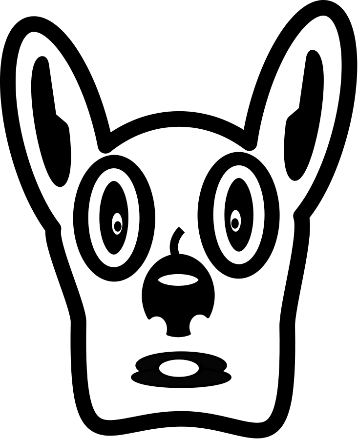 vector black and white library Walk dog clipart. Free pictures download clip