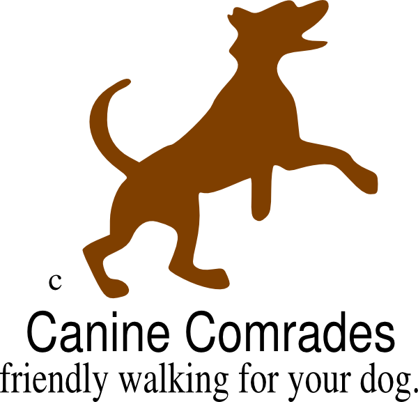 picture black and white download Logo clip art at. Walking a dog clipart