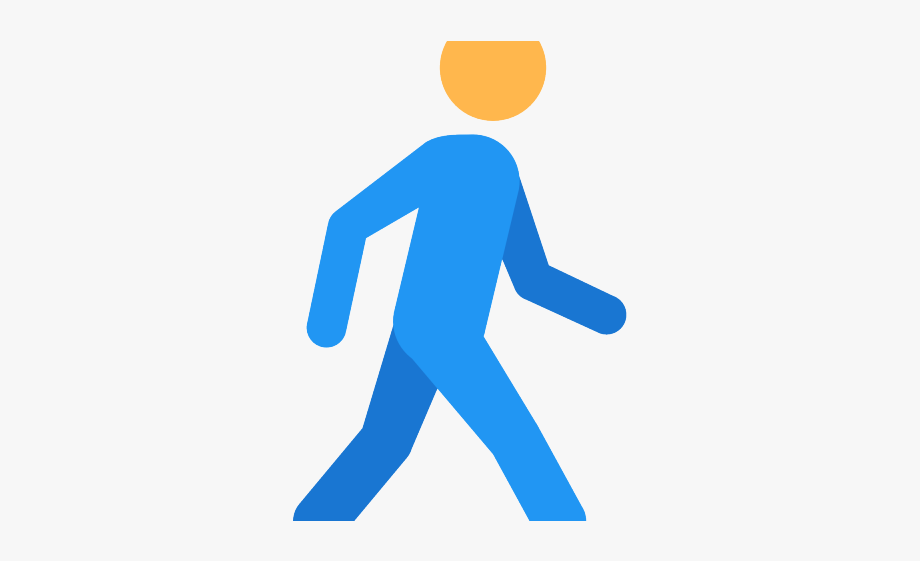 clipart free stock Human png free . Walking away clipart