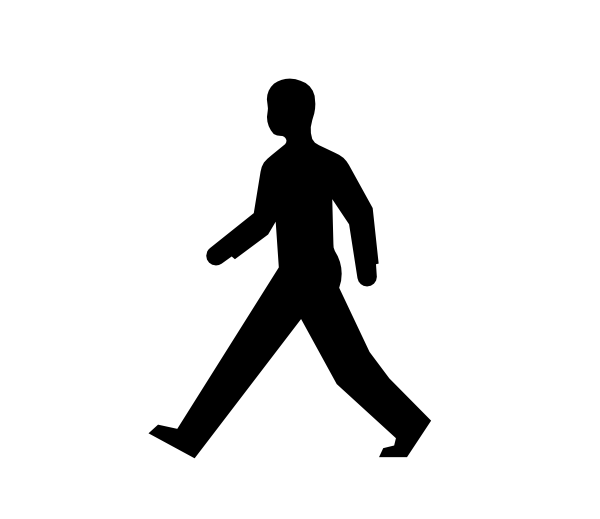 banner Free download clip art. Clipart person walking.