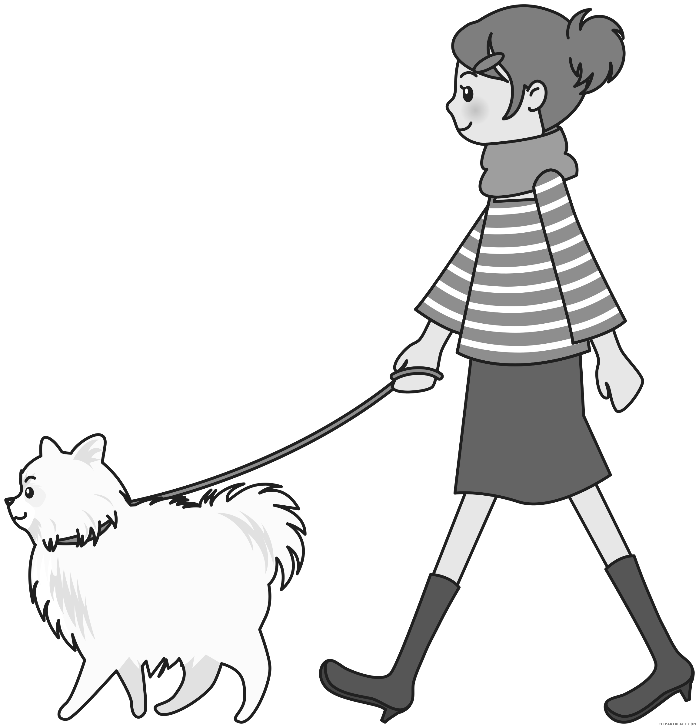 transparent stock Walking dog clipart. Page of clipartblack com