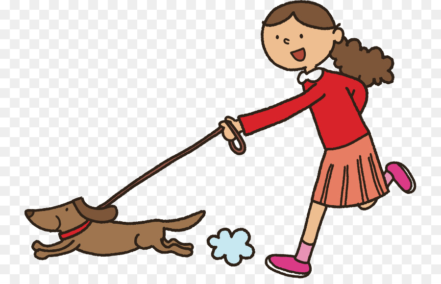 png royalty free library Walking dogs clipart. Boy cartoon puppy product