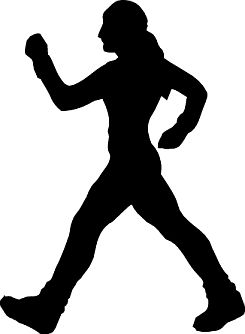 svg black and white stock Walking exercise clipart. Free walk cliparts download