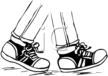 banner royalty free Free images clipartpost . Walking feet clipart.