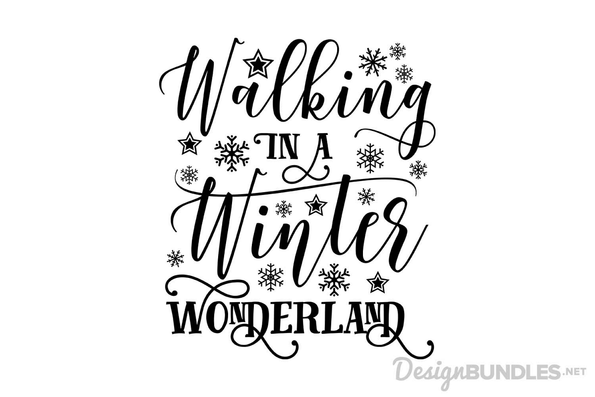 png transparent Walking in a winter wonderland clipart.