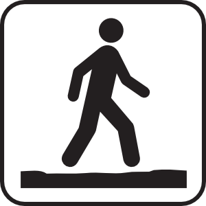 transparent Walking path clipart. Free cliparts download clip.