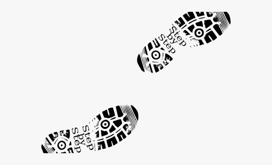 picture freeuse stock Shoe foot prints png. Walking shoes clipart