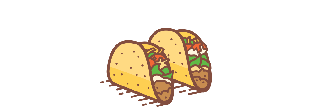 picture transparent library Walking taco clipart. Menu tnt tacos