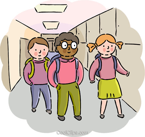 transparent library Walking to class clipart. Quotes about classmates and.