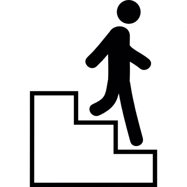 clip library download Walking up stairs clipart. Free download best on.