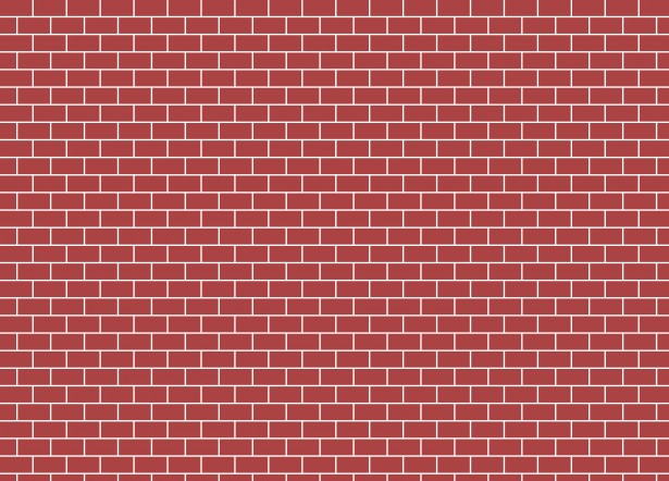 svg black and white Red brick free stock. Wall clipart
