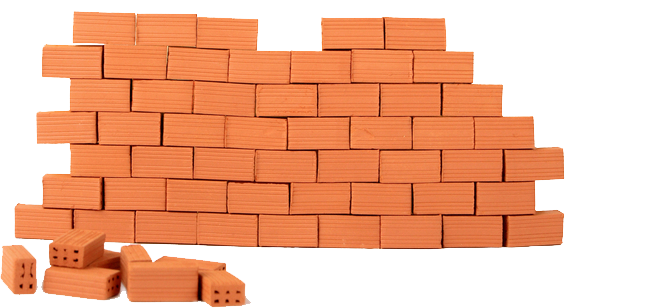 clipart black and white library Png image . Clipart brick wall