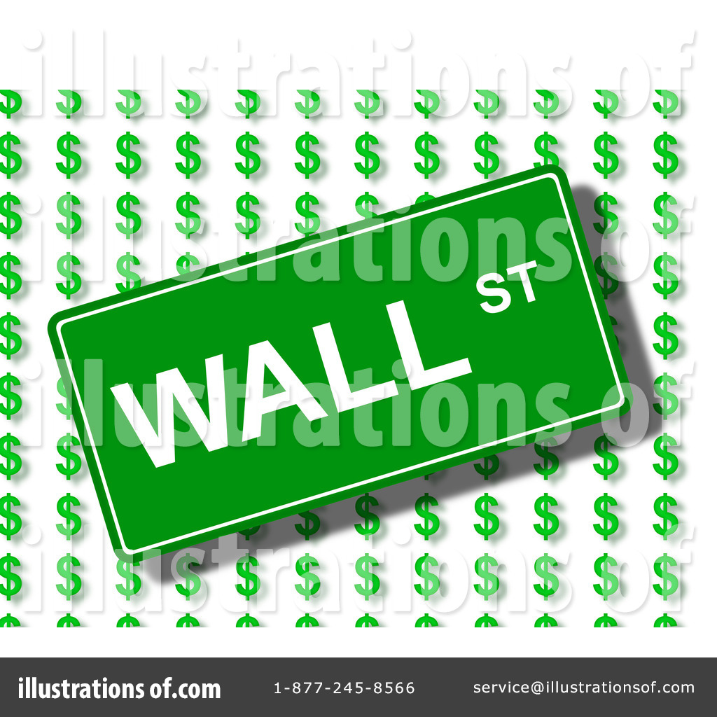 clip freeuse library Illustration by oboy . Wall street clipart.