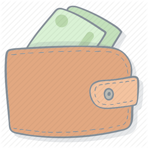clip art royalty free E commerce hand drawn. Wallet drawing