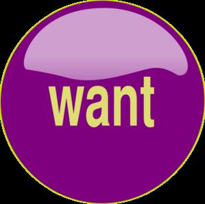 svg download Want Button clip art