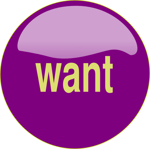 clip royalty free library Want Button Clip Art at Clker