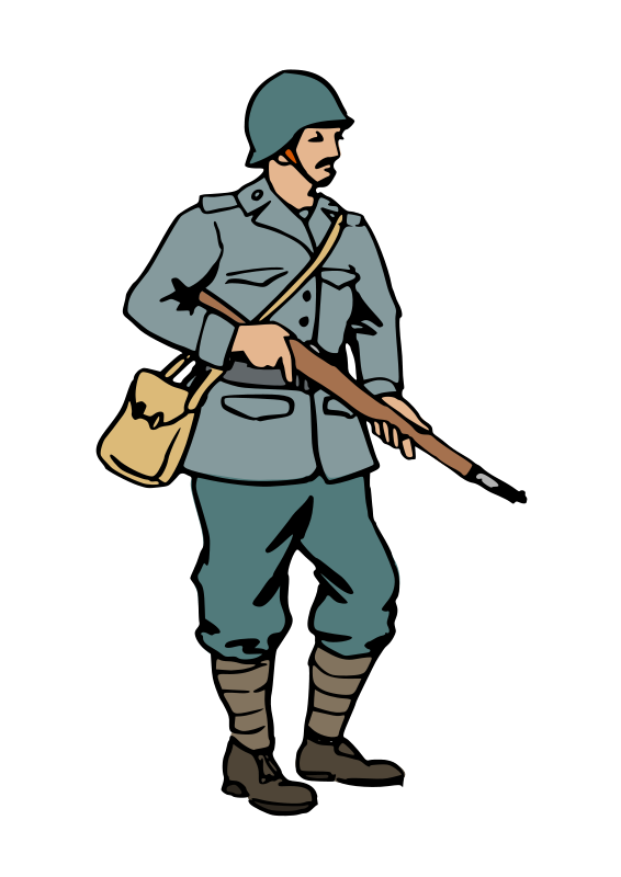 clip art War clipart. World soldier .
