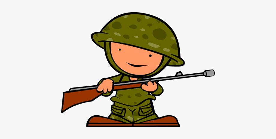 image free stock Soldiers hero little cartoon. War clipart.