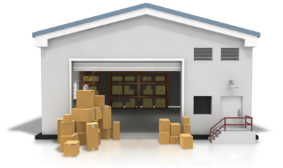 banner freeuse stock Png mart. Warehouse clipart.