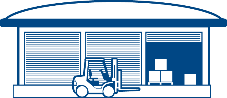 png library Logistics hub free on. Warehouse clipart.