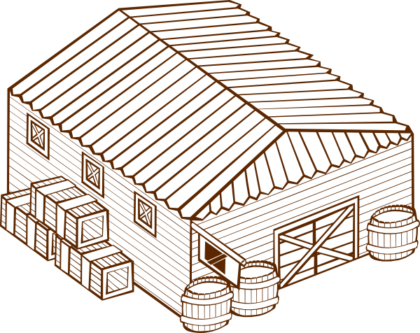 vector free download Warehouse Clip Art at Clker