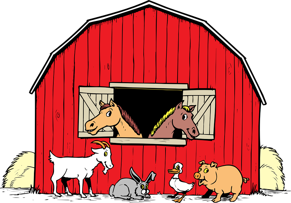 svg free stock Stables Clipart Group