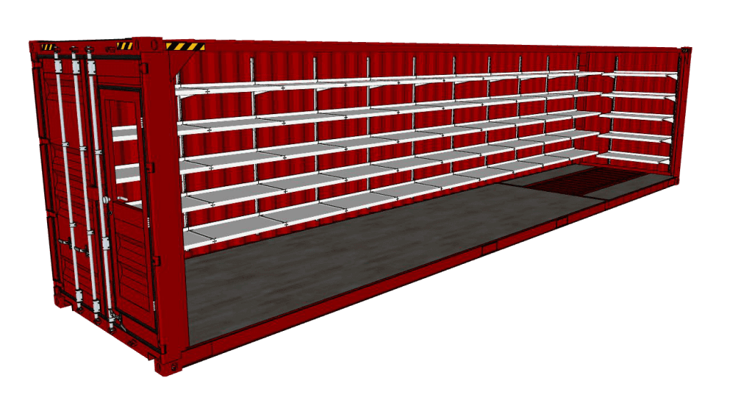 jpg freeuse stock Shelving Systems by E