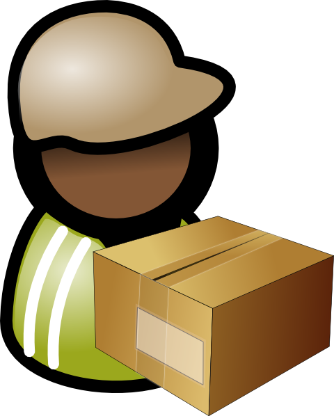 clipart freeuse stock Warehouse clipart storekeeper