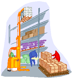 transparent stock  collection of picking. Warehouse clipart warehouse picker