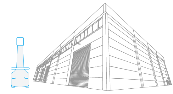 clipart library library warehouse drawing easy #108945720