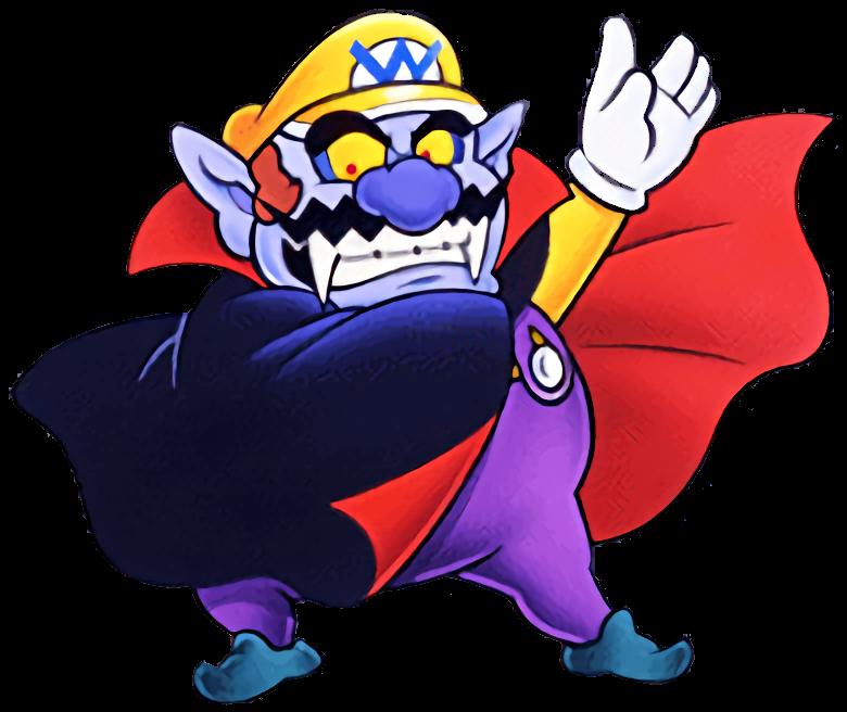 banner royalty free Vampire Wario