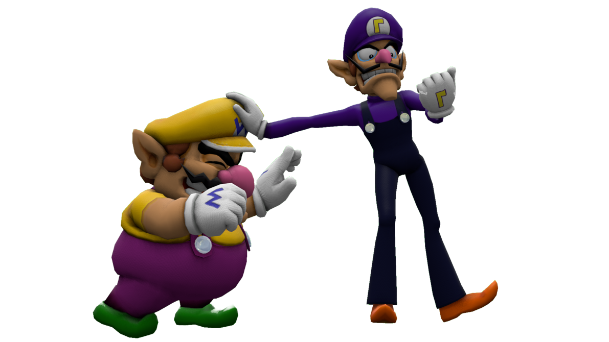 picture stock And by itsamewario on. Wario transparent waluigi