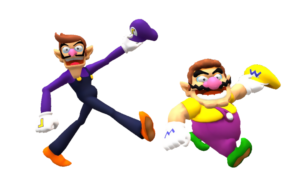 clipart transparent stock Hatless and by soldierino. Wario transparent waluigi
