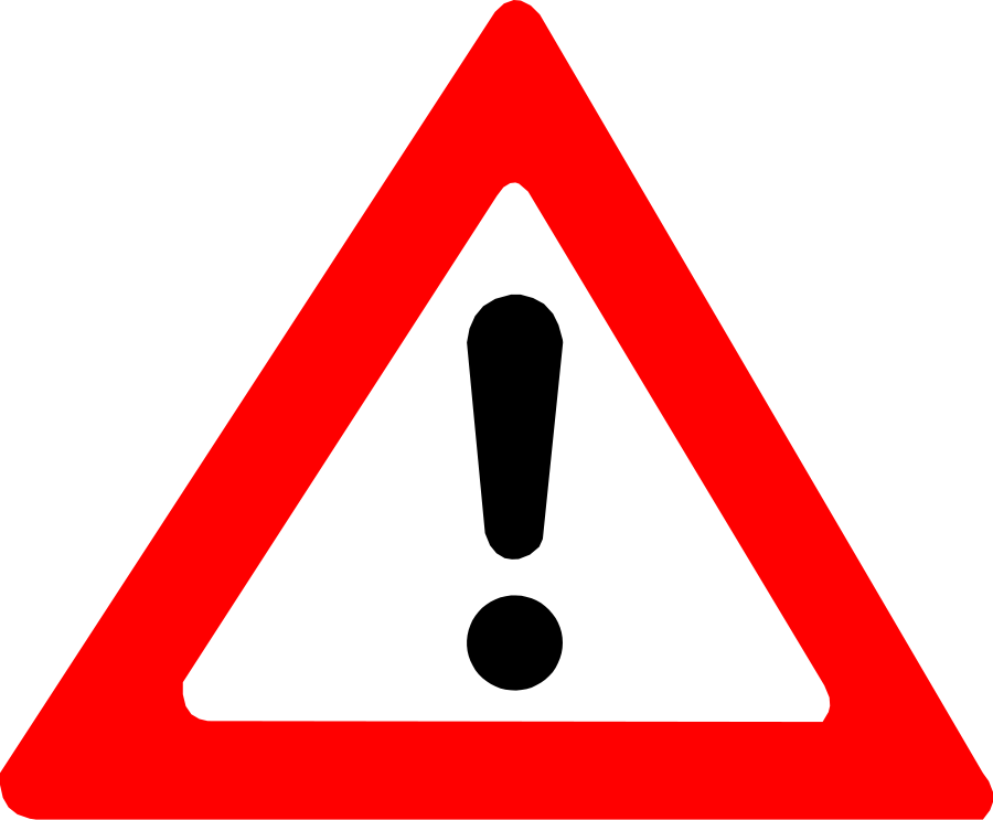 vector freeuse library Warning clipart. Free cliparts download clip