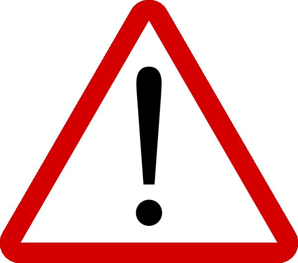 png royalty free Warning clipart. Sign clip art at