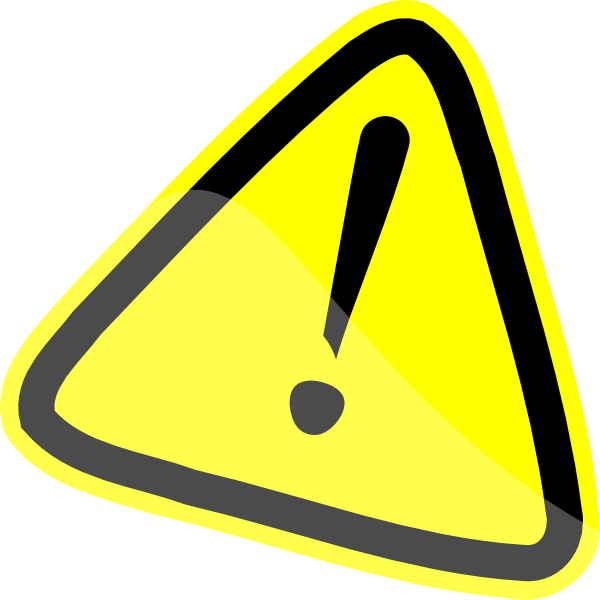 graphic free library Warning clipart. Sign clip art at