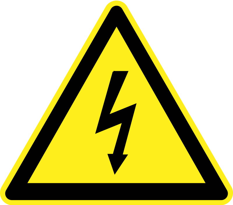 vector library Free clip art signs. Warning clipart