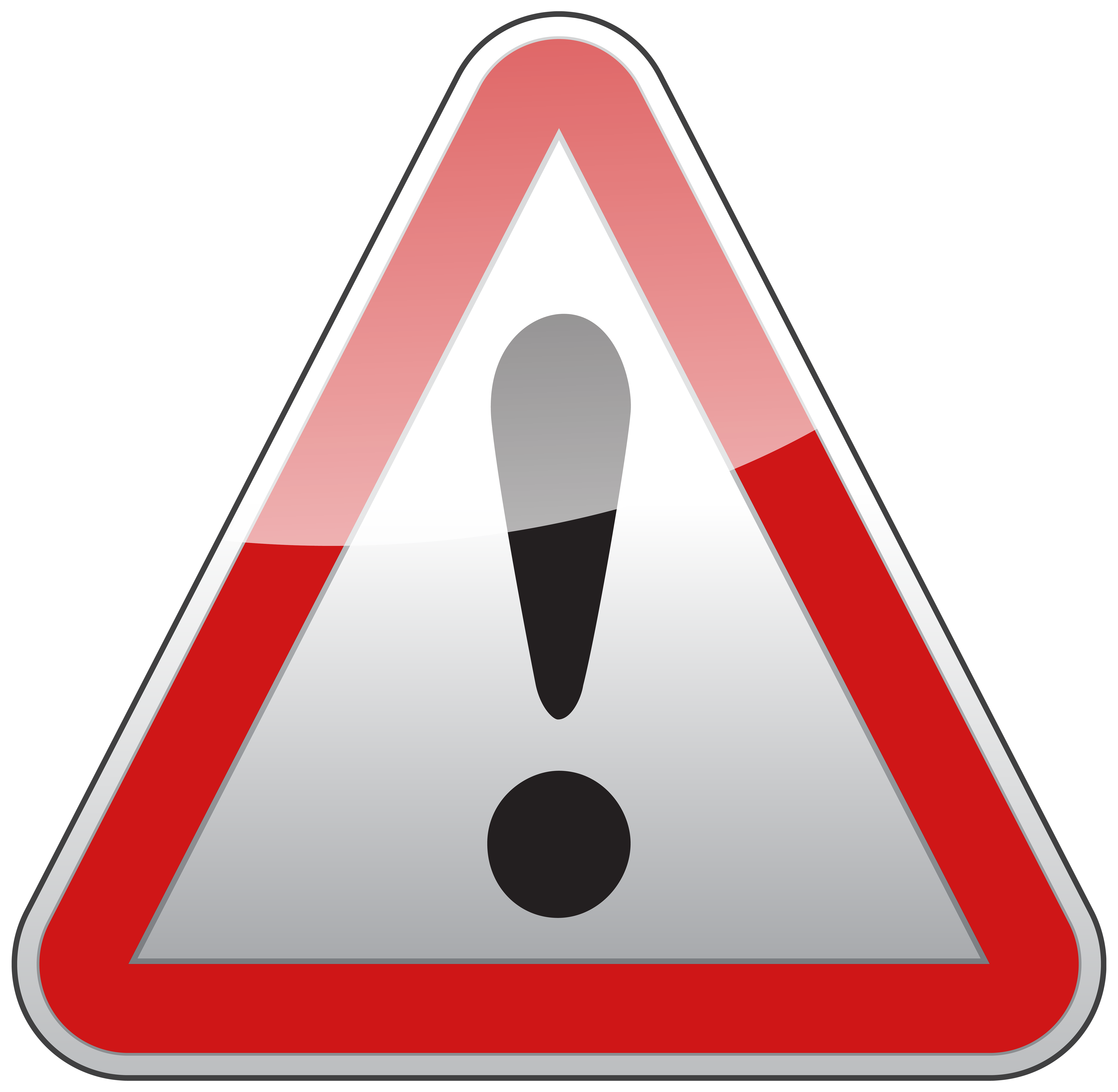 picture black and white download Law clipart road. Triangle warning sign png.