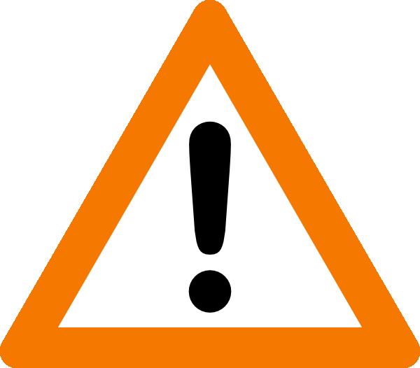 image royalty free Warning Yield Sign Clip Art at Clker