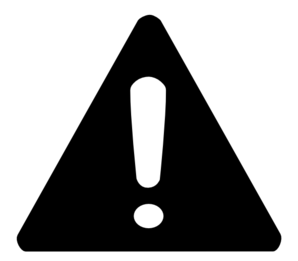 banner transparent library Vector signs. Warning sign clip art