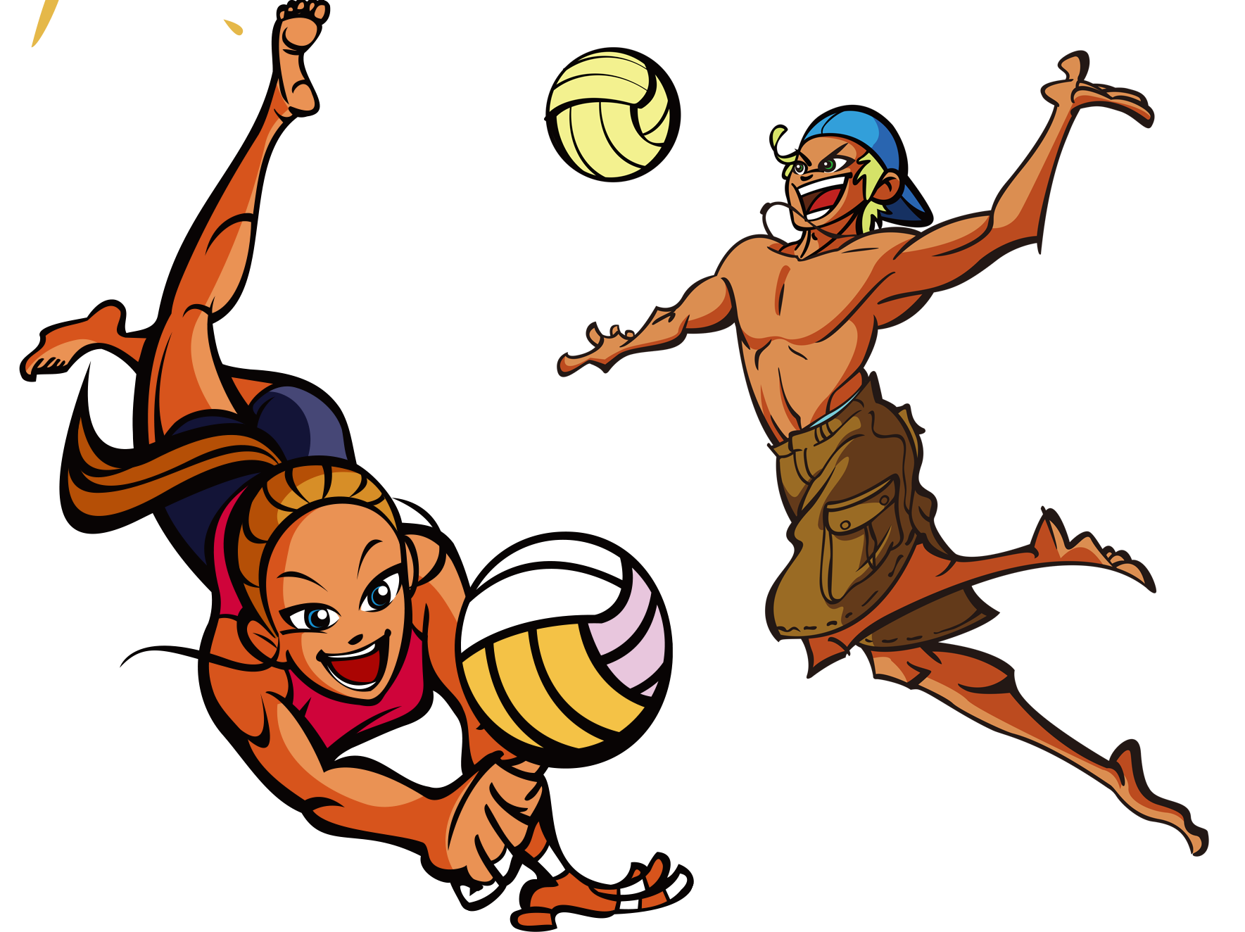 vector transparent download Beach clipart volley ball. Warrior volleyball free on.