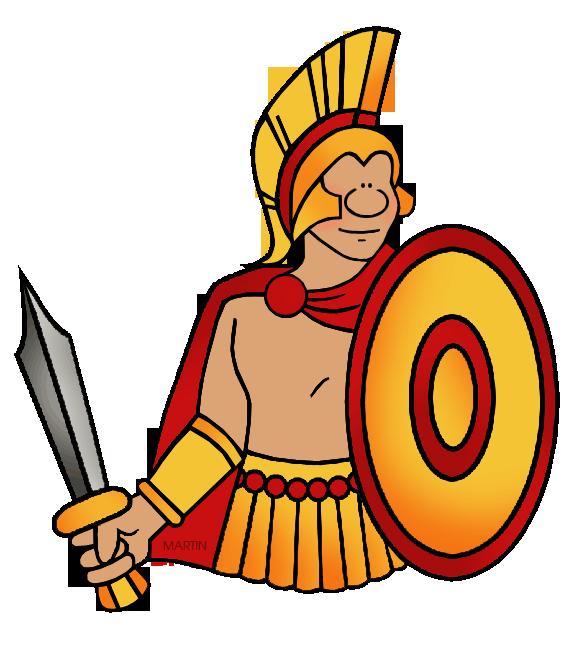 vector freeuse download Warrior clipart. Greek civilization free on