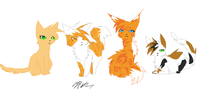 svg library Warrior Cats