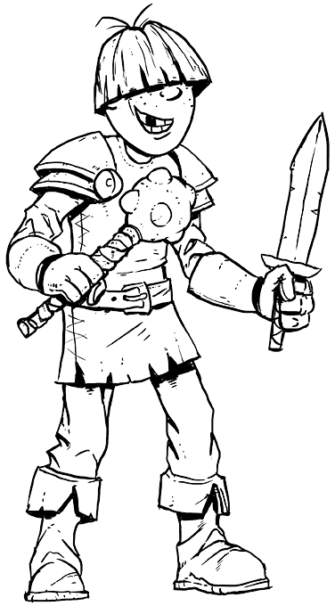 vector freeuse stock warriors drawing simple #108979126