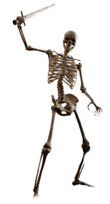 clip art library library Collection of free Drawing skeleton warrior