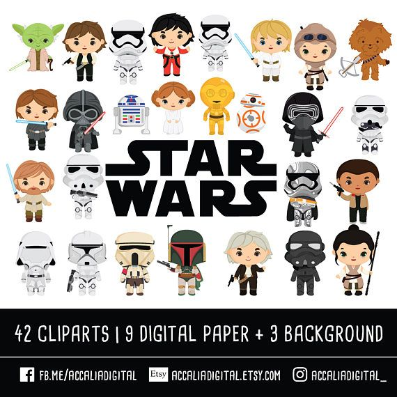 jpg library stock Wars clipart 1 character. Space clip art bundle