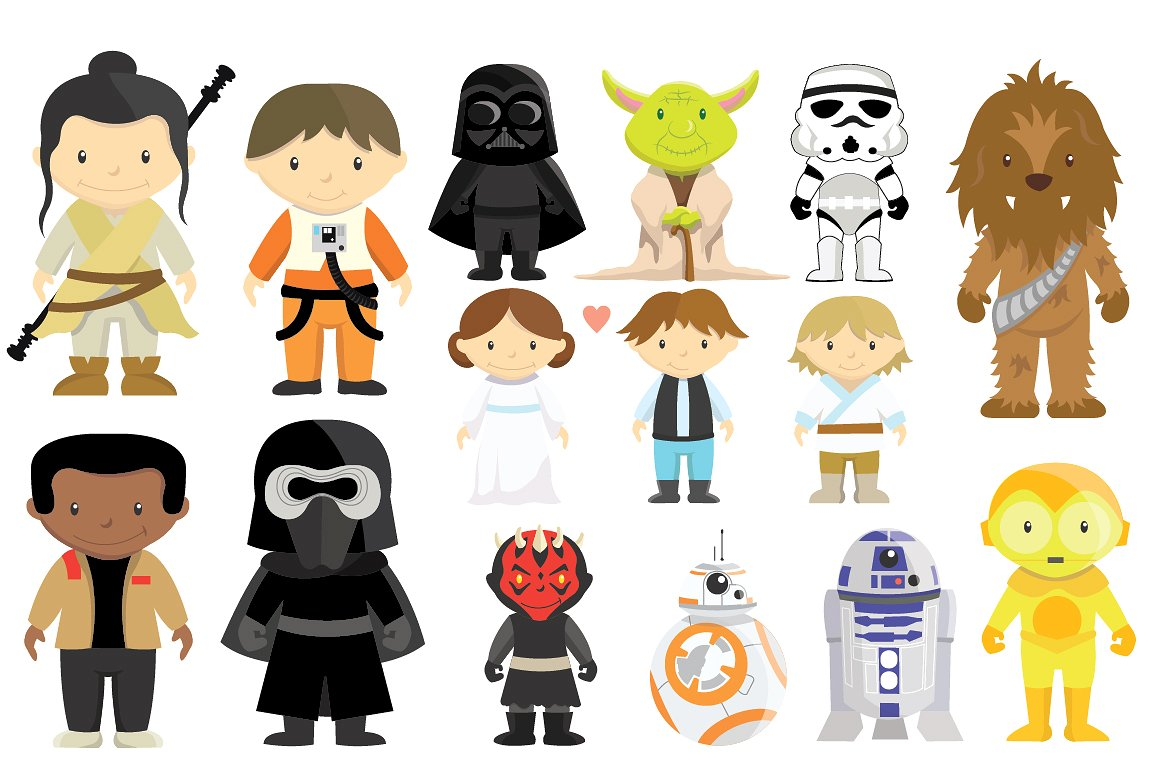 clip freeuse stock Characters free download on. Wars clipart 1 character