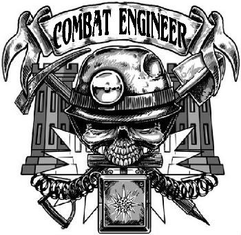 jpg transparent Combat logo was an. Wars clipart army engineer.