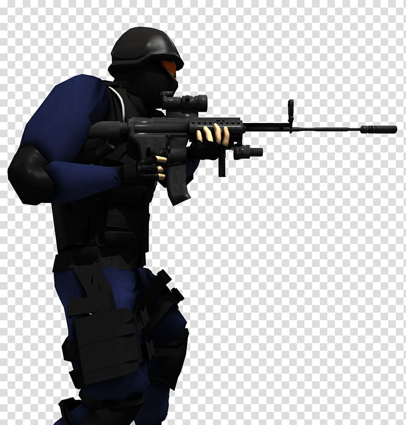 clipart transparent library Wars clipart marksman. Swat police soldier transparent